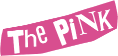 the pinkロゴ